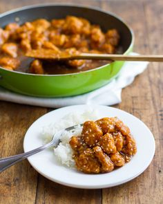 Healthier General Tso's Chicken