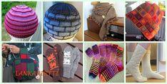 Lankapirtti: Taas hirvet törmäilevät Knitted Hats, Winter Hats, Purses, Wool, Sewing, Knitting, Pattern, Accessories, Fashion