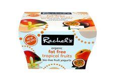 Rachel's Fat Free Tropical Fruits Yogurt
