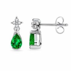 2.08 ct Pear Emerald and Diamond Dangling Earrings in Silver Quality Heirloom Angara.com,http://www.amazon.com/dp/B00INMDUTK/ref=cm_sw_r_pi_dp_uSomtb0GGV5WPEFT