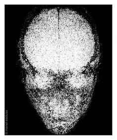 "Manel Esclusa (1995-2000) ""Núvols obscurs III"". Serie Scantac ."