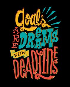 4/28: Deadlines by Jay Roeder, freelance artist specializing in illustration, hand lettering, creative direction