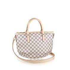 Riviera PM Damier Azur Canvas - Handbags   LOUIS VUITTON