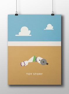 Minimalistic Movie Posters on Behance