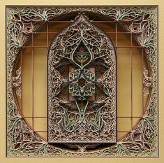 Eric Standley is an artist and educator currently living and working in Virginia. In his incredible series of 3D laser cut paper art, Standley's work is found at the intersection of art, tec...