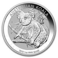 2020 P Australia Koala 1 oz .9999 Silver Round Capsuled BU Gem Coin PRESALE