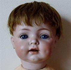 Antique Kammer Reinhardt Halbig German Baby Bisque Head Doll 121 Original Finish   eBay