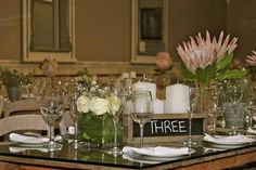 Table decoration Our Wedding, Table Decorations, Furniture, Home Decor, Decoration Home, Room Decor, Home Furnishings, Arredamento, Dinner Table Decorations
