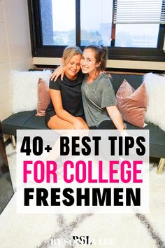 I'm so excited to go off to college but also have no idea what to expect so these college tips were sooo helpful! I feel like I know what to expect now and know a little bit of the inside scoop from a college girl that really knows what's up! College Freshman Tips, College Life Hacks, College Roommate, College Packing, New College, College Boys, Freshman Year, College Students, Inspiration Room