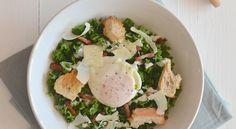 Fast & Fresh: Caesar salade van boerenkool - Uit Paulines Keuken