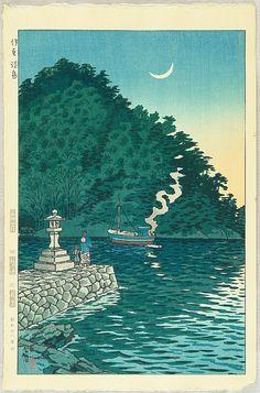 Awashima Island, by Shiro Kasamatsu (1898-1992)