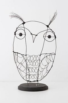 Wire Owl...