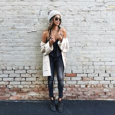 Sincerely Jules in the Wilfred Brullon sweater. #MyAritzia
