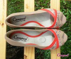 A palmilha Campesí tem a Gota Anti-Stress, que massageia o seu pé e evita o cansaço. Já experimentou? #conforto