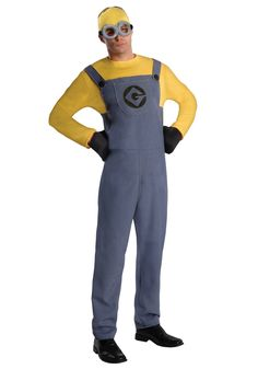 Rubie's Costume Despicable Me 2 Adult Minion Dave, Blue/Yellow, Standard Medium Costume: Rubie's costume company has been bringing costumes and accessories to the world since This costume set includes jumpsuit, headpiece, gloves and goggles Adult Minion Costume, Minion Halloween Costumes, Despicable Me 2 Minions, Halloween Fancy Dress, Halloween Kostüm, Adult Costumes, Halloween Parties, Costume Parties, Disney Outfits