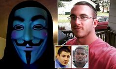 Deric Lostutter - who went by the online name KYAnonymous - was charged for allegedly conspiring to access an online account to draw attention to a 2012 high school rape case in Ohio.