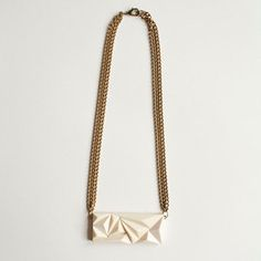 Kilimanjaro Rectangle Necklace now featured on Fab.