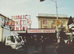 Pikes place market Seattle, Washington