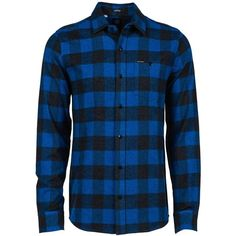 Volcom Echo Flannel Shirt - Long-Sleeve - Men's ($65) ❤ liked on Polyvore featuring men's fashion, men's clothing, men's shirts, men's casual shirts, men and men wear