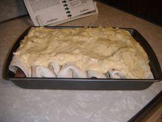 Beef Enchiladas and good chicken cresent roll casserole.