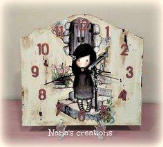 Nana's Χειροποίητες Δημιουργίες Wall, Painting, Clocks, Home Decor, Decoration Home, Room Decor, Painting Art, Watches