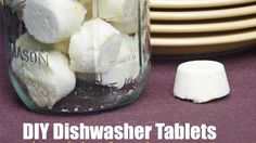 DIY Dishwasher Tablets Clean Your Dishes on the Cheap