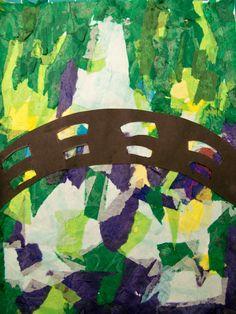 art projects for preschool monet   All Things Art Gulf Breeze Elementary