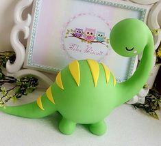 Dinosaur Cupcakes, Dino Cake, Dinosaur Birthday Cakes, Dinosaur Party, Elmo Party, Elmo Birthday, Mickey Party, Bolo Dino, Mickey Mouse Centerpiece