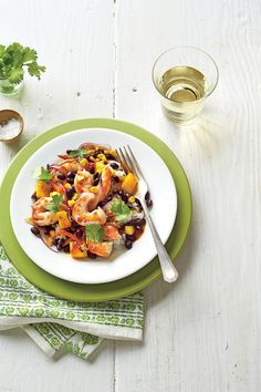 Stir-Fry Recipes: Shrimp-and-Black Bean Stir-Fry