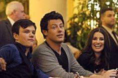Chris, Cory, Lea, the good old days.