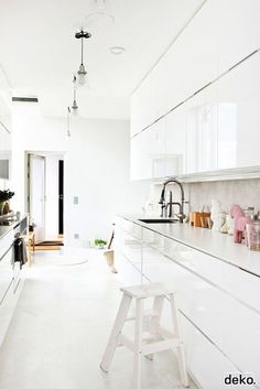 wonder how this kitchen looks at night...