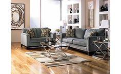 Chic Contemporary Sofa & Loveseat