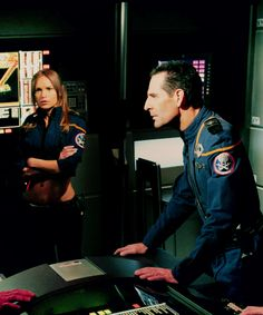 Capt Archer and T'Pol