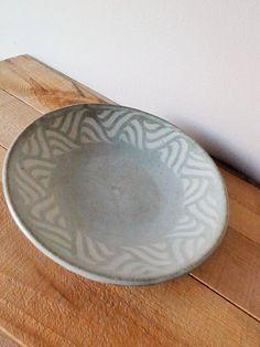 画像1: 掛谷康樹 練上手皿(7寸)