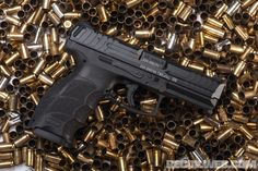 HK Takes Aim at the Civilian Market Heckler & Koch, Striker Fired, German Police, Best Concealed Carry, 9mm Pistol, Military Units, Submachine Gun, Picatinny Rail, Police Box