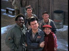 Hogan's Heroes: Season 3, Episode 2 Some of Their Planes Are Missing (16 Sep. 1967)  Larry Hovis, Ivan Dixon