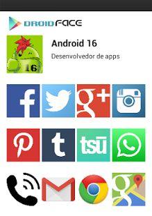 DroidFace - o seu app social