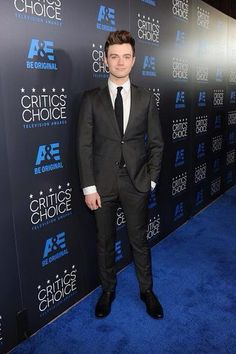 Actor Chris Colfer arrives at the 5th Annual Critics' Choice Television Awards in Beverly Hills, California May 31, 2015