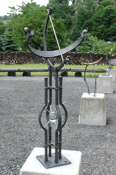 Sundial garden in Northern Germany. How many can you see?