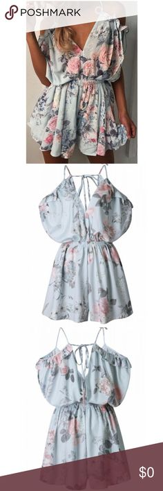 👣Diana Floral Romper☀️Arriving this week🌴 Arriving this week the beautiful flowy Diana Romper!! Wear ever you romp look stylish!! 👣👌🏼Like to get tagged on arrival!! HipFinds Shorts