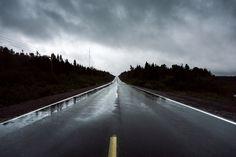 Atmospherics Vanishing Highway Northern Arm, Newfoundland