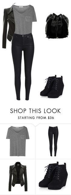 """""""Untitled #32"""" by we-got-a-city-to-love ❤ liked on Polyvore featuring T By Alexander Wang and Steve Madden"""