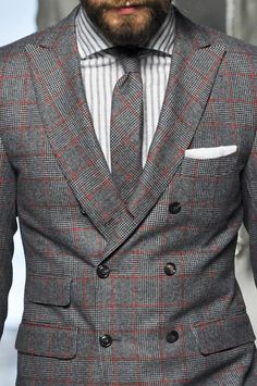 Michael Bastian Mens Details A/W 13 Michael Bastian, Best Suits For Men, Mens Suits, Sharp Dressed Man, Well Dressed, Gentleman Style, Gentleman Fashion, Mens Trends, Dapper Men