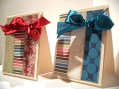 Beautiful cards! Love the big bows. Using Comfort & Joy by Sugarplum Paperie