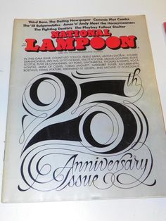 VTG NATIONAL LAMPOON MAGAZINE (APR 1972): ADULT HUMOR PARODY SATIRE JOKE CARTOON