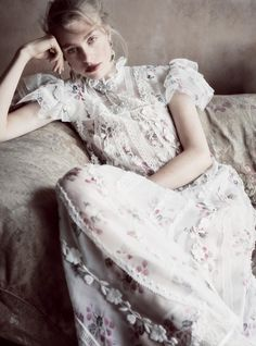 Hedvig Palm Stuns in Haute Couture Gowns for Harper's Bazaar UK Harpers Bazaar, Glamour, Best Fashion Magazines, Haute Couture Gowns, She's A Lady, Mode Editorials, Vogue Uk, Couture Collection, Fashion Stylist
