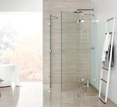 Dansani Air Shower is maximum minimalism and high-end materials for your bathroom. Take a look at the nice Air Shower products from Dansani and find inspiration for your bathroom. Bathroom Furniture, Divider, Shower, Lamb, Design, Home Decor, Ideas, Rain Shower Heads, Decoration Home
