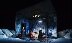 """""""John Gabriel Borkman"""" Henrik Ibsen's play from 1896 has been newly translated by Frank McGuinness for Ireland's Abbey Theatre later in residence at BAM's Harvey Theater."""
