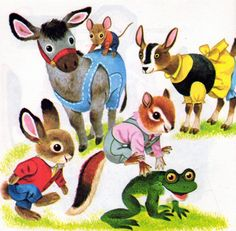 Busy, busy world-Richard Scarry