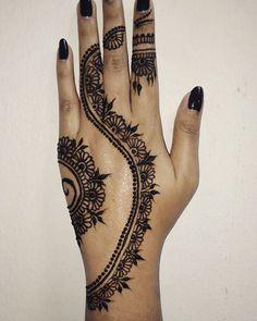 #henna #hennadesign #hennasg #inspiredhenna #mehndi #mehndidesign